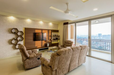 3bhk flat interior design designed by interior designers in bangalore bannerghatta road