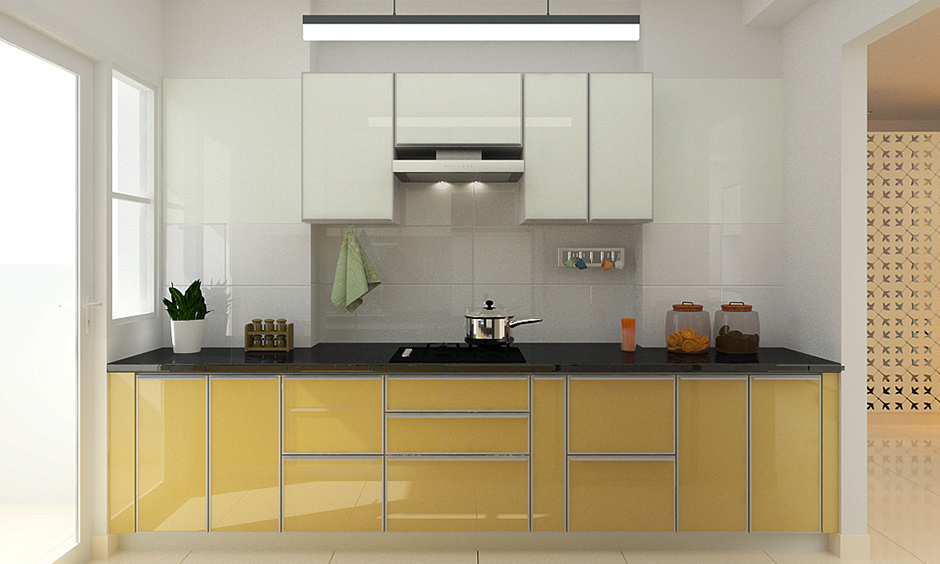 Aluminium kitchen for your home where deep cleaning is not required