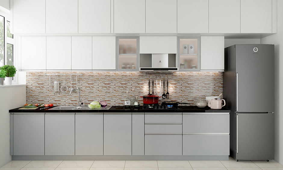 Aluminium kitchen cabinet for your home which is moisture proof and favorable and durable