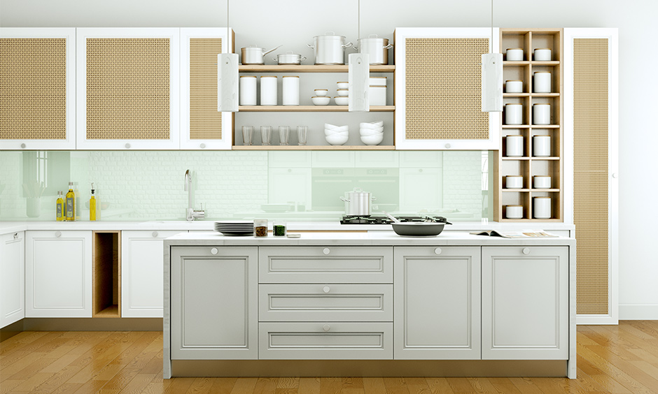 Kitchen cabinet storage ideas which are useful for small Indian kitchen storage ideas