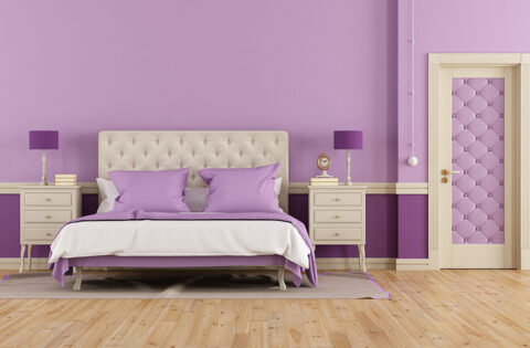 Lavender bedroom design ideas for your home