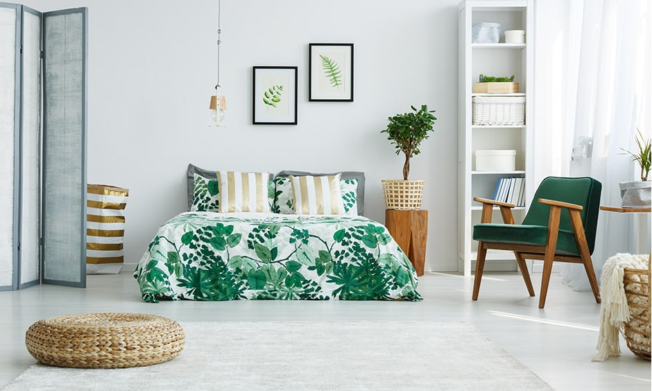 Monsoon decoration for bedroom with green decor leads monsoon high