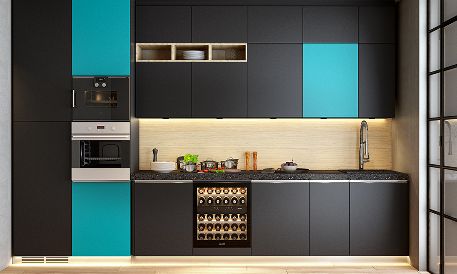 Laminate backsplash materials resistant to water, stain and moisture