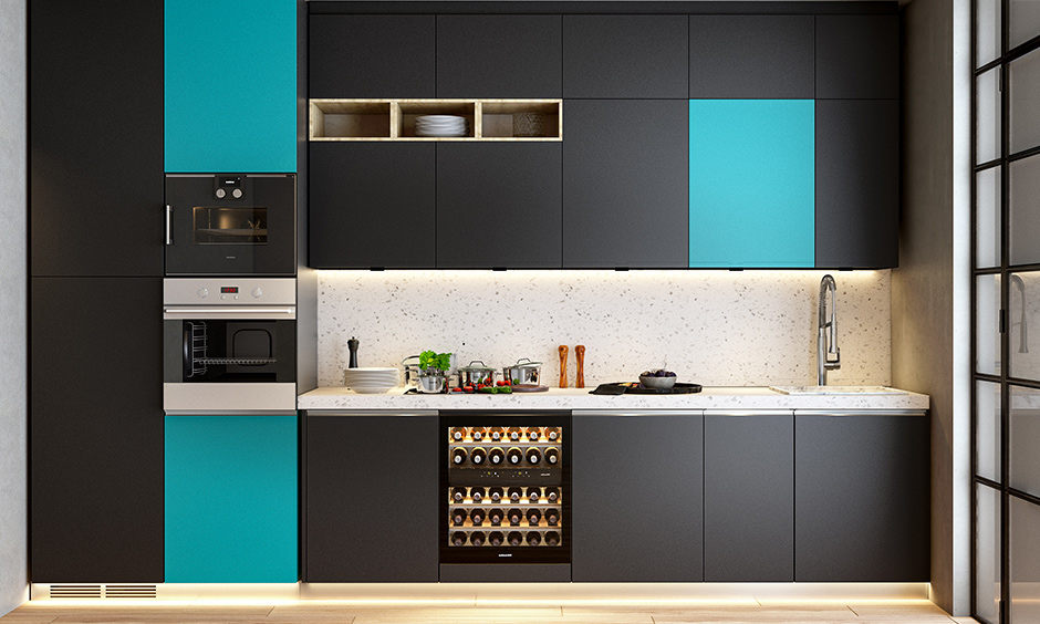 Different types of backsplash with quartz which is remarkably durable and resistant to heat and scratches