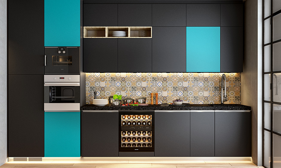 Different types of kitchen backsplash with ceramic tile which are highly resistant to heat and moisture that makes it a durable