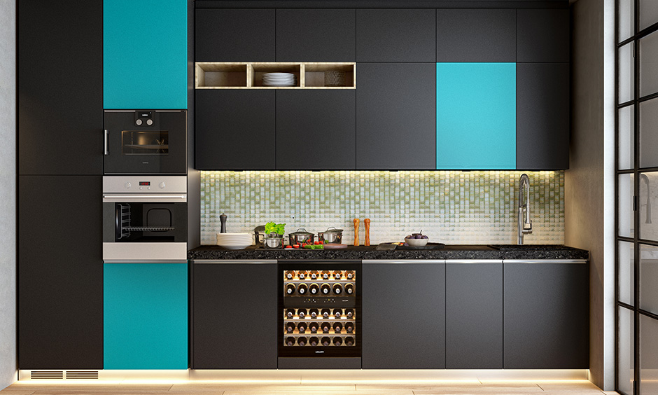 Best type of tile for kitchen backsplash with glass tiles with crystalline glaze fired onto the back of every tile