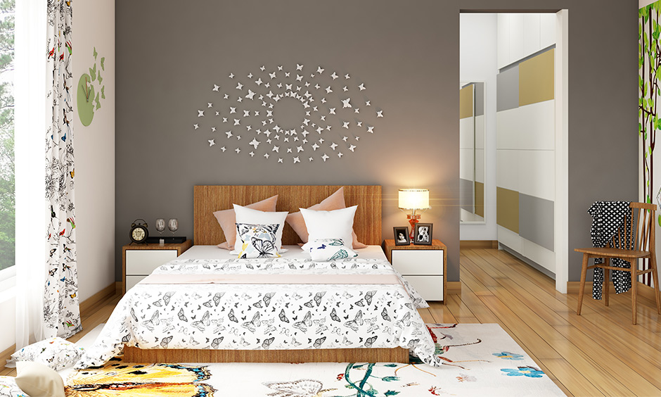 Wood bed headboard can customise as per your choice & have storage integrated into your headboard in wood