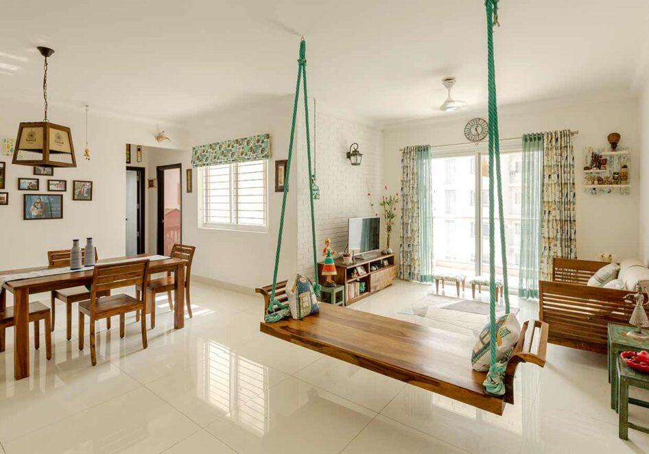 Shankarnarayan Balakrishna's 3 BHK Home In Bangalore