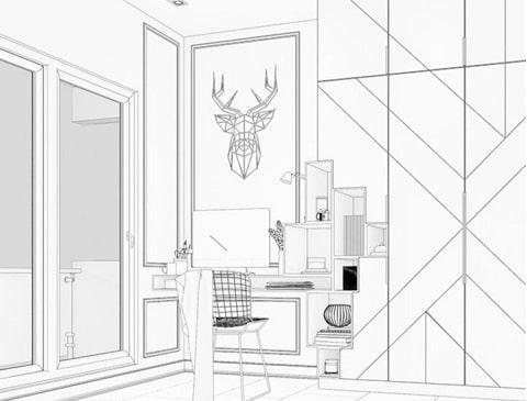 A Home Interiors Guide To Study Room Interior Design