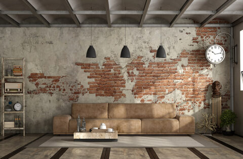 Rustic wall paint colors for your home