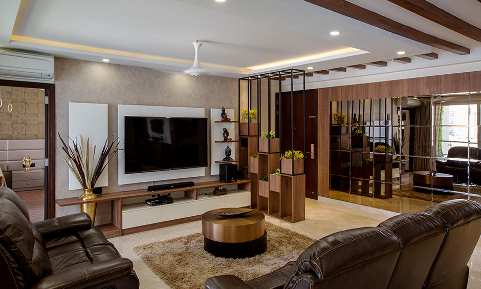 4bhk Flat Interior Design Bangalore Divyasree 77 Design Cafe