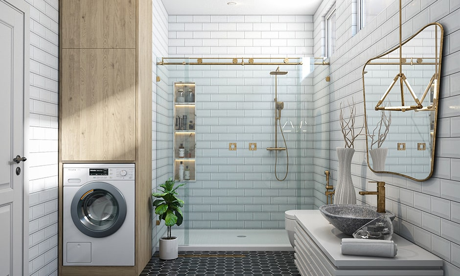 Shower niches are built-in storage accessories for your bathroom