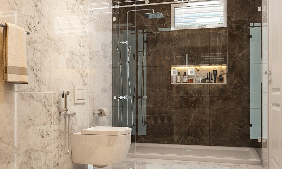 Checklist to bathroom interior design, toilet is a essential elements for bathroom interiors