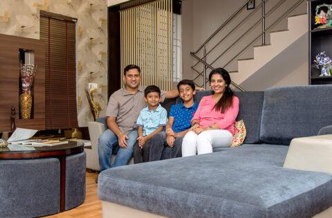 DC interior design company in bangalore designed amrainder home in sarjapur road