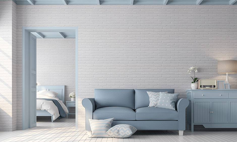 Neutral white color to level up the elegance which can blend in easily with both bold and light accents