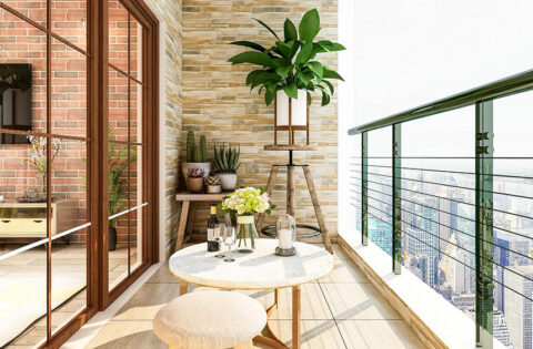 Small balcony decoration ideas for your balcony