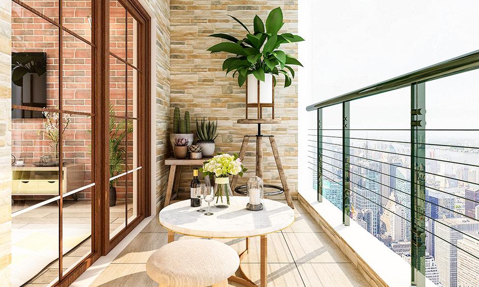 Small balcony decoration ideas for your balcony