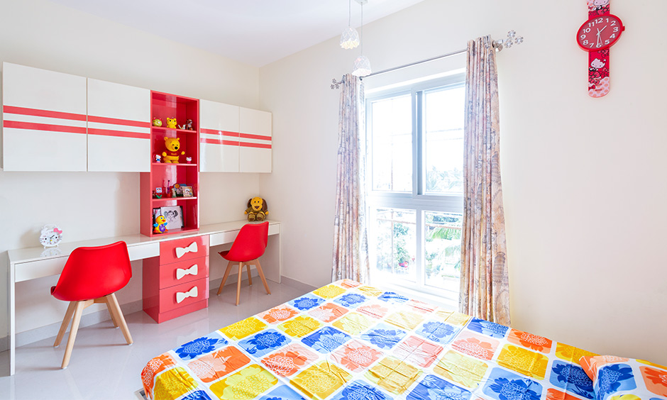 Kids bedroom interior for apartments interior designers in bangalore designer for east parade jain heights