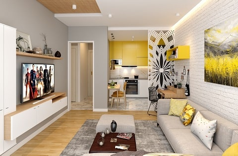 Living Room Interior Designs by top home interior designers.