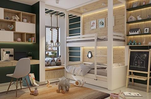 Kids Bedroom Interior Designs by Best Home Interior Designers.
