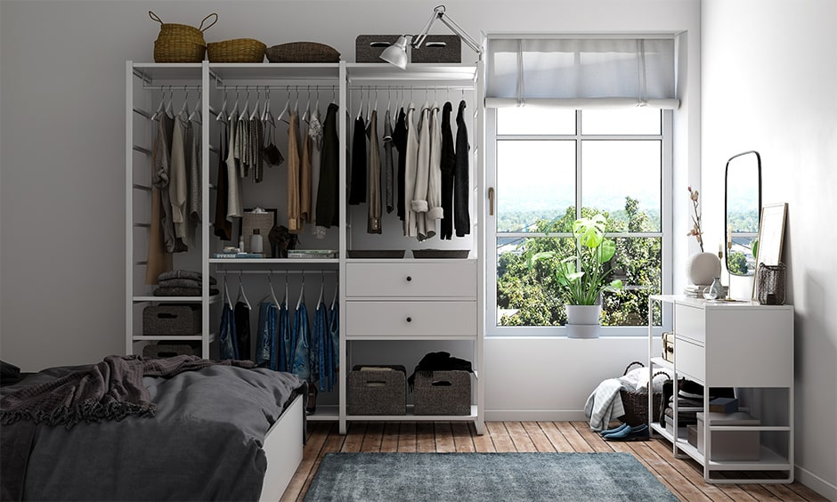 Small bedroom storage ideas to organise your small bedroom