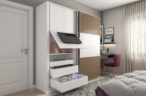 Space Saving Interior Designs by best home interior designers.