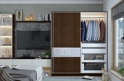 Wardrobe interior designs by top interior designers.