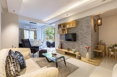 Living room interior design ideas.