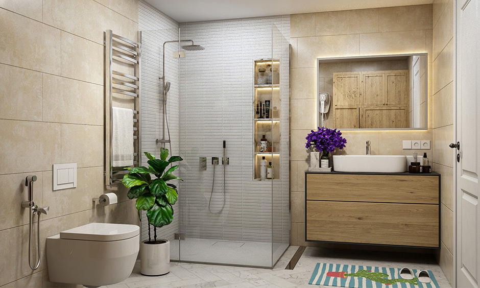 How to design a bathroom for guest