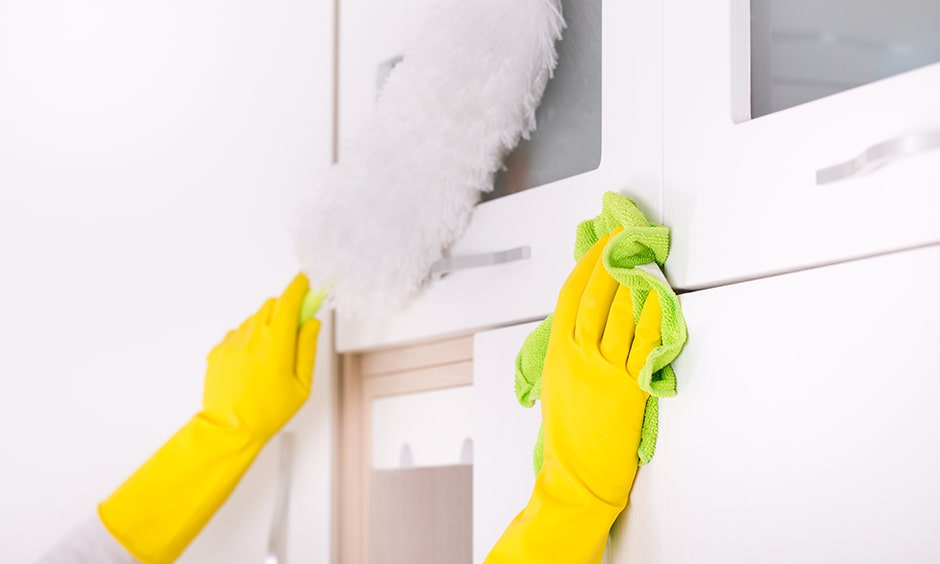 Kitchen cabinet cleaning tips, check how to clean cupboards more effectively