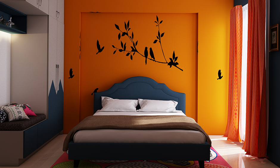Best 3bhk interior design with kids bedroom which is bright and engaging