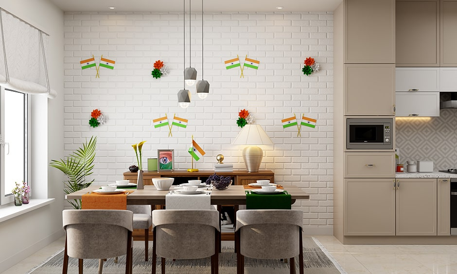 15th august independence day decoration ideas for your home with a vibe of the nation and tricoloured napkins