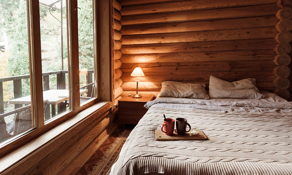 Detect termites eating wood in your wooden bedroom and get rid of it.
