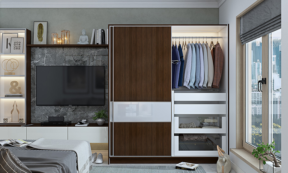 Sliding door wardrobe design for your home