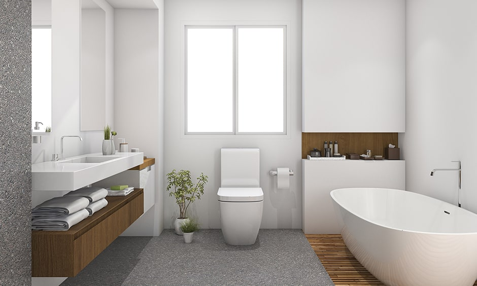 How to clean bathroom to make a disinfecting a bathroom