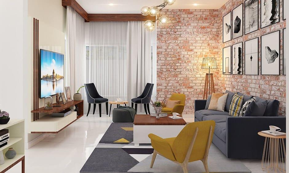 Brick wall design to make a beautiful home