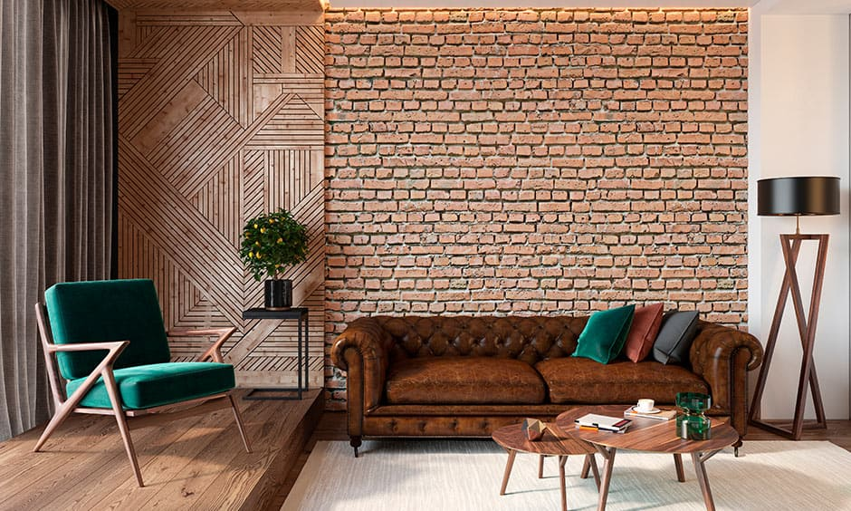 Brick wallpaper design for your home, it is look like a brick wall design