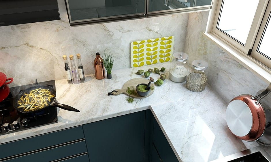 Check how to choose marble countertops and their prices