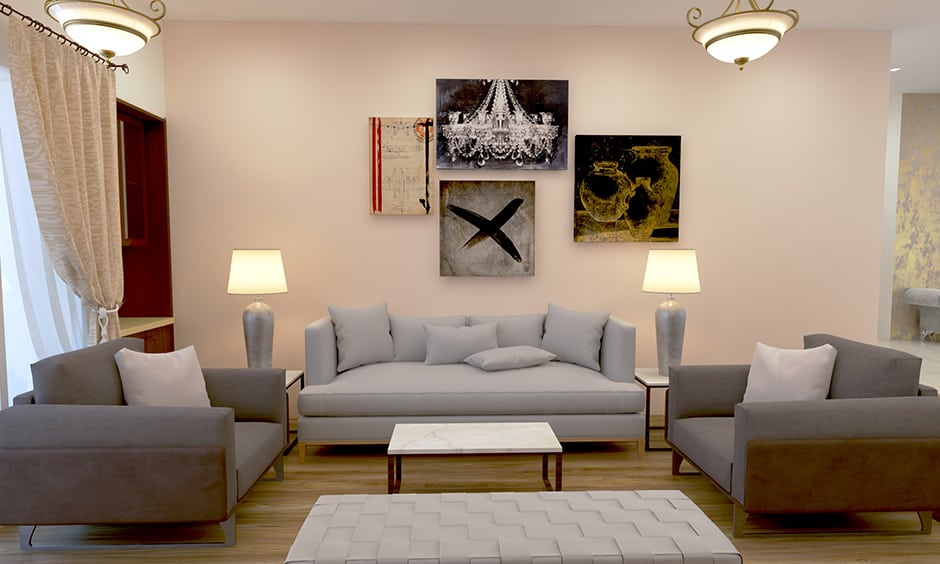 Get a wonderful finish to your living room wood flooring of which cleaning it is easy too with vacuuming or sweeping