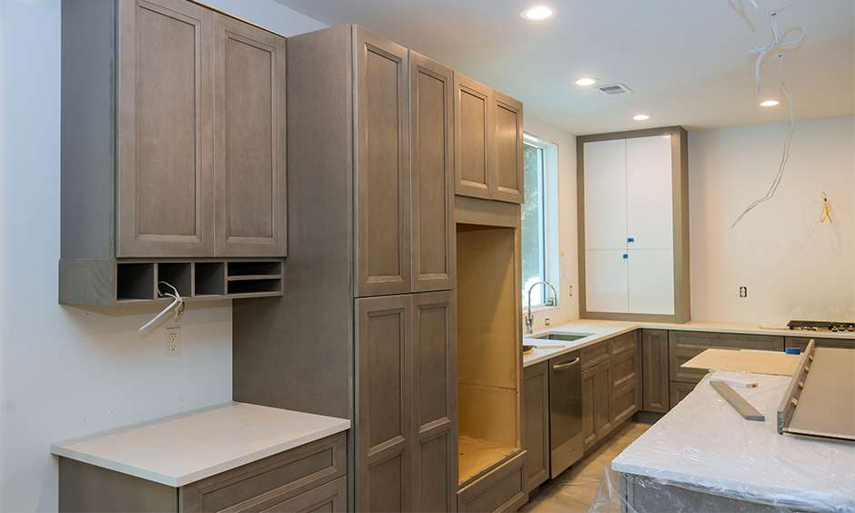 Building a civil kitchen is a long and lengthy process
