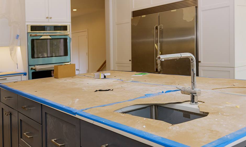 Civil kitchen carpenters give you hand drawings only