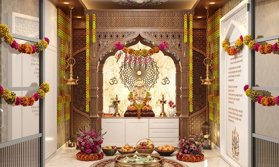 Ganesh Chaturthi Decoration Ideas At Home Design Cafe