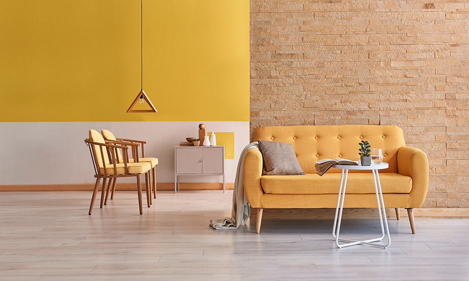 Bright room colors of all yellow with bright living room colors that can make any room look pleasant