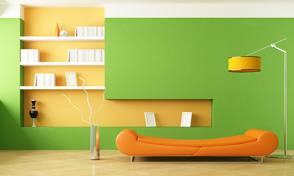 Bright wall colors inviting bright green that that adds peace and rejuvenation for bright room colors