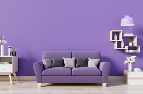 Bright room colours for your home