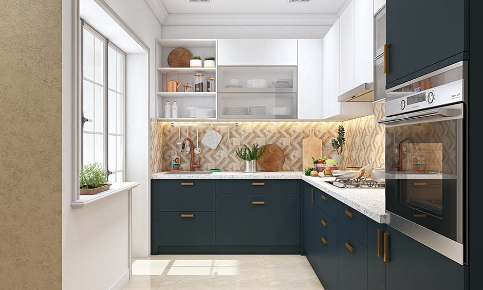 Know about golden triangle rule: slab, storage unit and cooking range while designing your kitchen