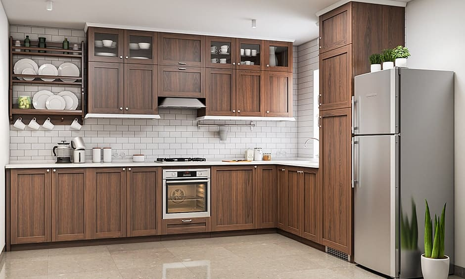 Standard kitchen dimensions for wall cabinets to design your kitchen