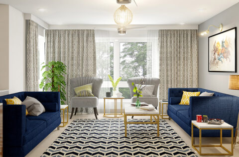Sofa colour combination ideas for your home
