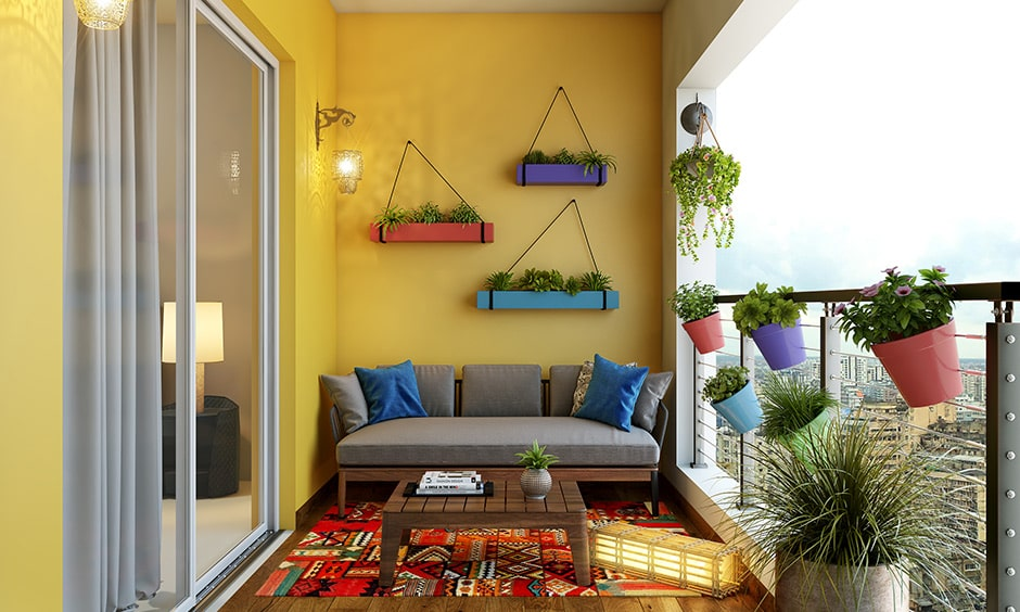 Balcony interior design guide before bringing in furniture and decor