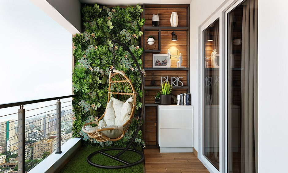 Check out the best options for seating in balcony interior design